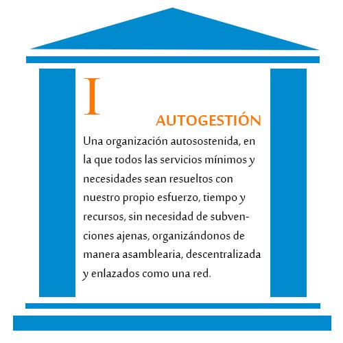 pilar I Autogestión