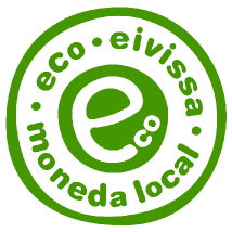 Logo del Eco, moneda local de Eivissa
